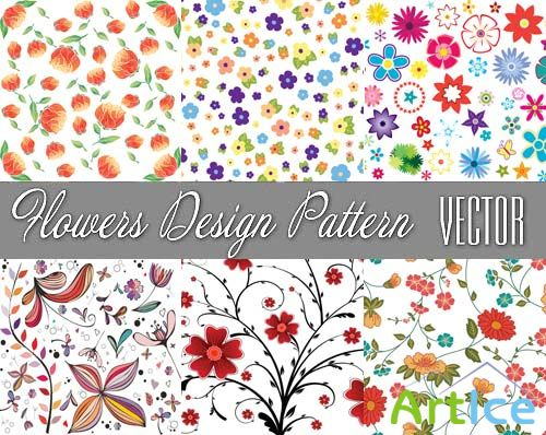 Vectors - Flowers Design Pattern