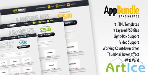 ThemeForest - App Bundle - Landing Page - RiP