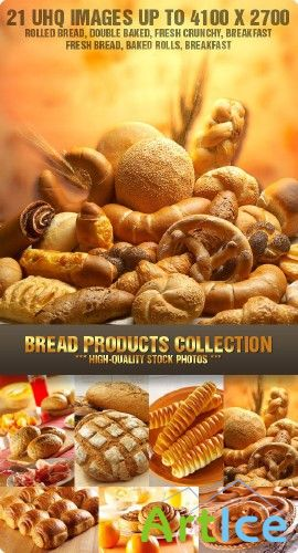 Stock Photo - Bread Products Collection | Хлеб, булочки, пироги