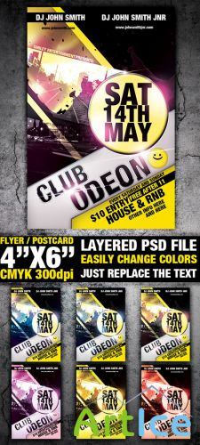 GraphicRiver - Club Flyer Template