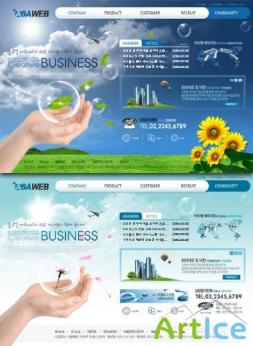 Web Templates - Nature Business Website