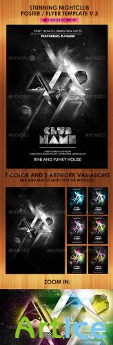 Stunning Nightclub Poster Flyer Template - GraphicRiver