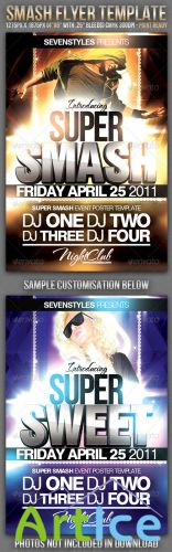 Smash Flyer Template - GraphicRiver
