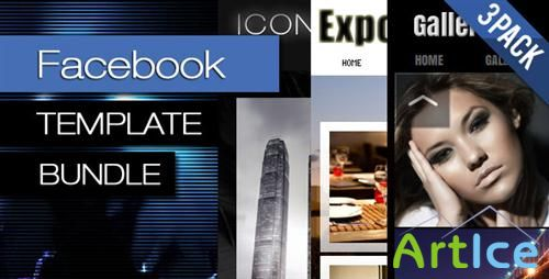 ActiveDen - Facebook Template Bundle