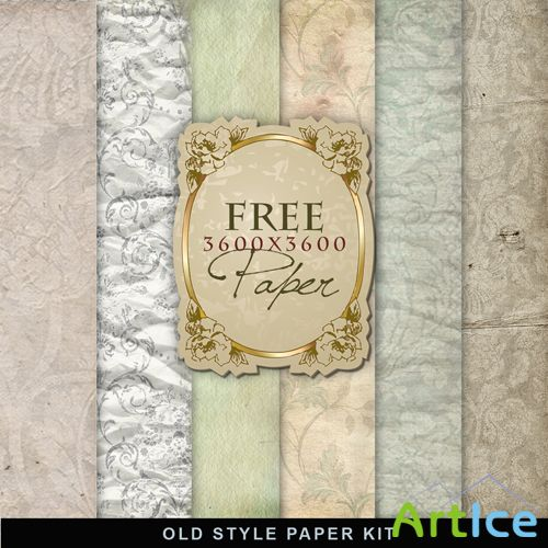 Textures - Old Vintage Backgrounds #42