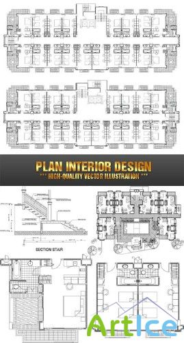 Plan Interior Design | План-схема интреьера