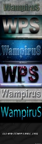 Wampirus 3D Text Effect (Pack 2)