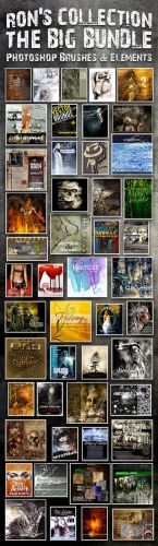 Ron's Collection - The Big Bundle - Photoshop Brushes & Elements