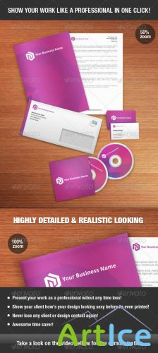 GraphicRiver - Identity Mock-up Kit