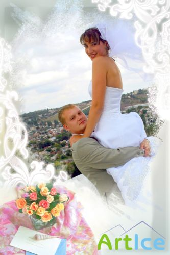 Photo Frame - Summer wedding
