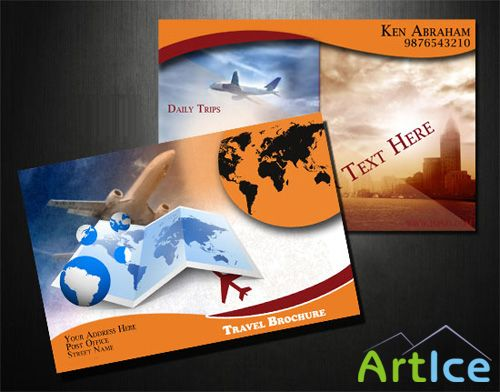 Travel Brochure PSD
