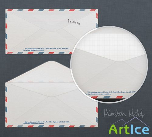 Simple mail envelope