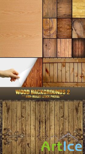 Stock Photo - Wood Backgrounds 2