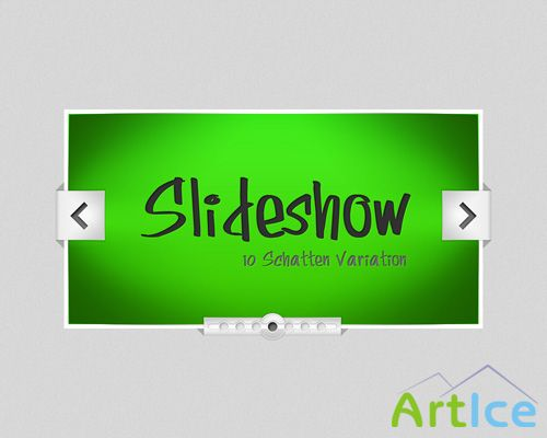 Photoshop Slideshow PSD