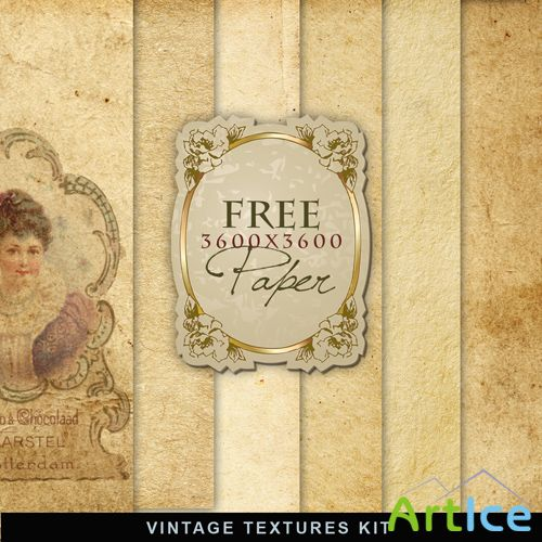 Textures - Old Vintage Backgrounds #46