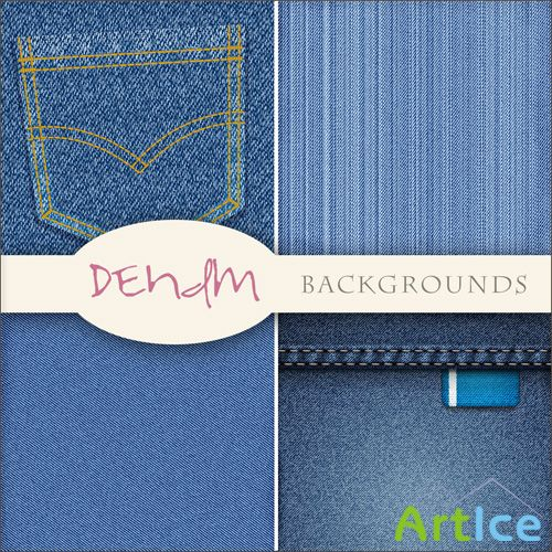 Textures - Jeans Backgrounds #1