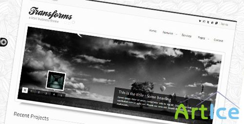 Themeforest - Transforms html template - Retail