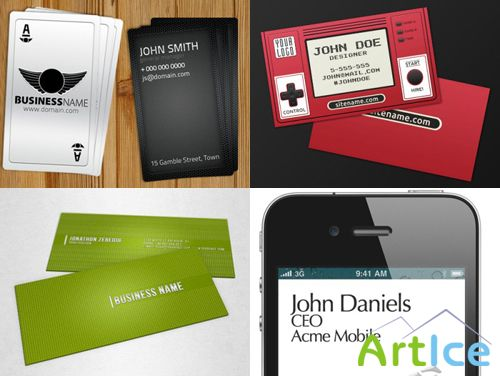 PSD Business Cards 2011 pack # 21
