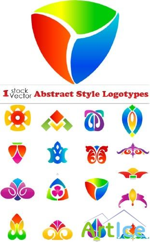 Abstract Style Logotypes Vector