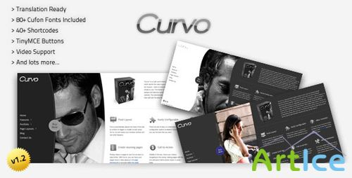 ThemeForest - Curvo - Horizontal Premium WP Theme v1.4.2