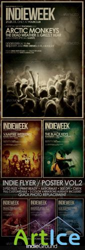 GraphicRiver - Indie Flyer/Poster Vol. 2