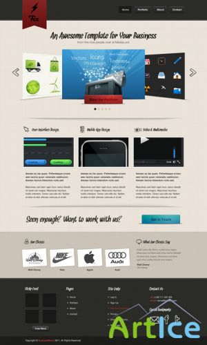 Fix Website Template 1