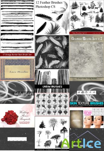 Collection Brushes for Photoshop pack 1