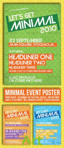 GraphicRiver - Minimal Event Poster