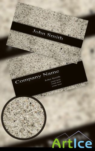Sand Business card