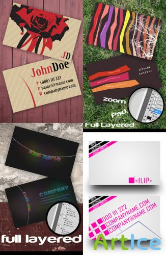 PSD Business Cards 2011 pack # 8