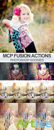 MCP Fusion Photoshop Actions