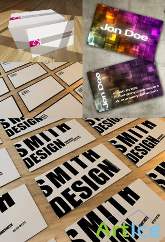 PSD Business Cards 2011 pack # 19