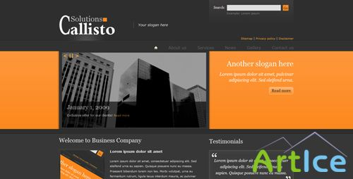 ThemeForest - Callisto v1.1