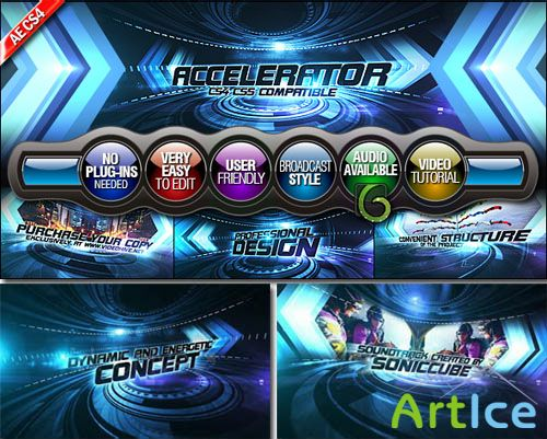 Videohive - Accelerator - Project for After Effects