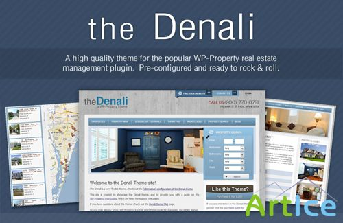 WP-Property The Denali theme v2.1