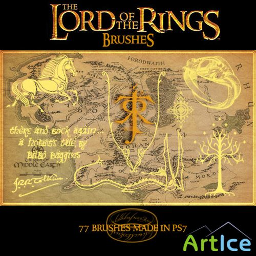 Lord of the Rings brushes