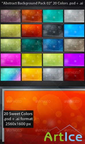 GraphicRiver - Abstract Backgrounds Pack 02