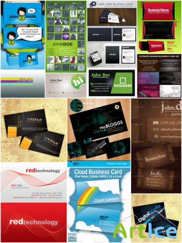 GraphicRiver - Ultimated Master Business Card Templates Pack 1 (REUPLOAD)
