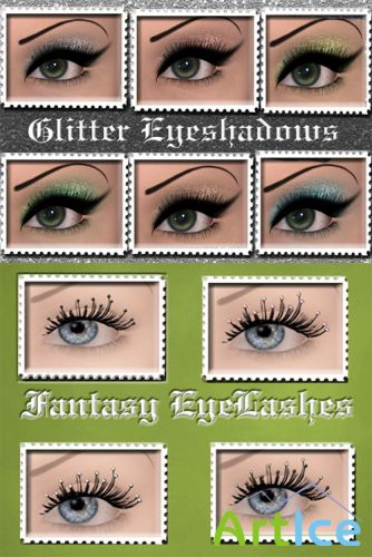 Glitter and Fantasy Eyeshadows