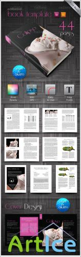 InDesign Book Template Calipso