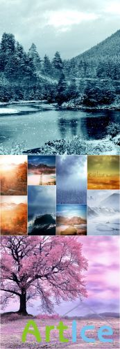 Fantastic Nature Backgrounds - 3