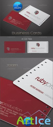 Vector Business Cards Template