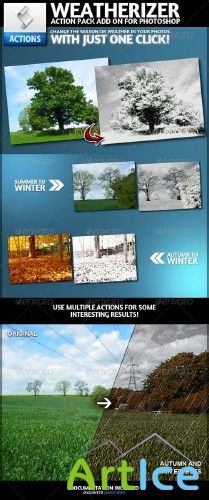GrRr Weatherizer | Photoshop Actions