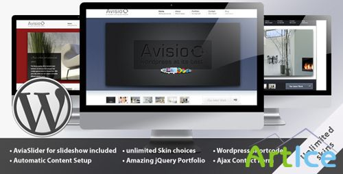 ThemeForest - Avisio - Business and Portfolio v1.2.1b