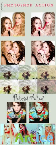 Cool Photoshop Action pack 93
