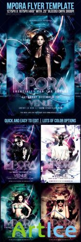 GraphicRiver - Mpora Flyer Template