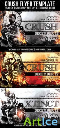 Crush Flyer Template