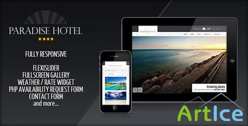 ThemeForest - Responsive Paradise Hotel - RiP