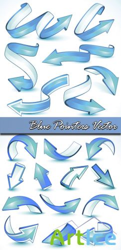 Blue Pointers Vector