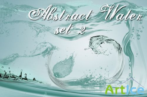 Abstract Water Brushes Set 2 for Photoshop